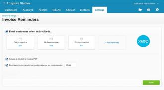 Xero Improve your Cashflow with Invoice Reminders