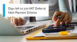Days left to join VAT Deferral New Payment Scheme