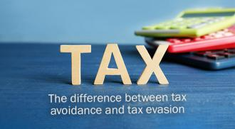 The difference between tax avoidance and tax evasion