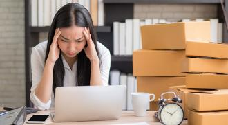 Accounting the most stressful part of running a small business