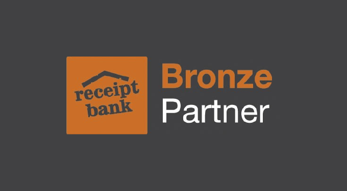 CloudAccountant are now Receipt Bank Bronze Partners