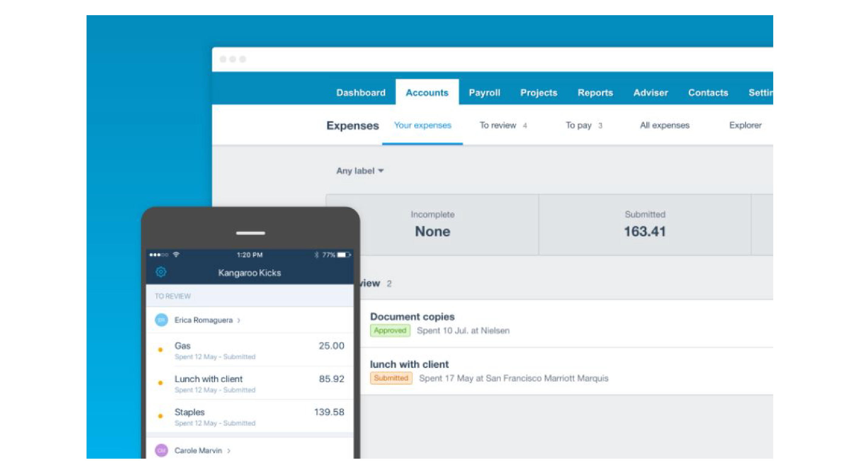 Get The New Xero Expenses App For Free